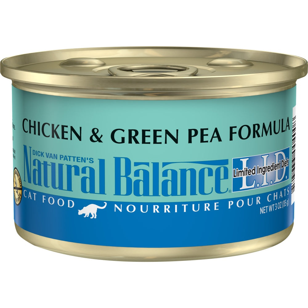 Natural Balance L.I.D. Limited Ingredient Diets Chicken and Green Pea Canned Cat Food