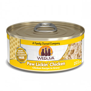 Weruva Grain Free Paw Lickin' Chicken Canned Cat Food