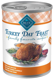 Blue Buffalo Family Favorites Turkey Day Feast Canned Dog Food