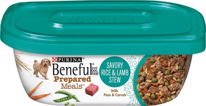 Beneful Prepared Meals Savory Rice and Lamb Stew Wet Dog Food