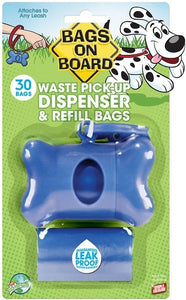 Bags on Board Blue Bone Dispenser
