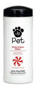 John Paul Pet Teeth and Gums Dog Wipes