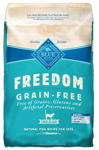 Blue Buffalo Freedom Fish Grain Free Indoor Dry Cat Food