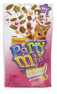 Friskies Party Mix California Dreamin' Cat Treats