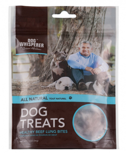Cesar Millan All Natural Healthy Beef Lung Bites Dog Treats