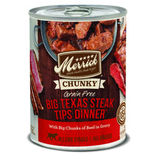 Merrick Grain Free Big Texas Steak Tips Dinner Wet Dog Food