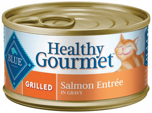Blue Buffalo Healthy Gourmet Grilled Salmon Entree Canned Cat Food