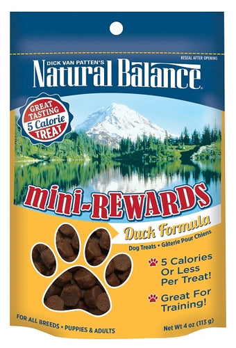 Natural Balance Mini-Rewards Duck Formula Dog Treats