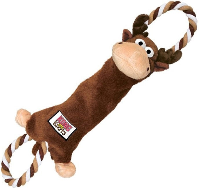 KONG Tuggerknots Moose Dog Toy
