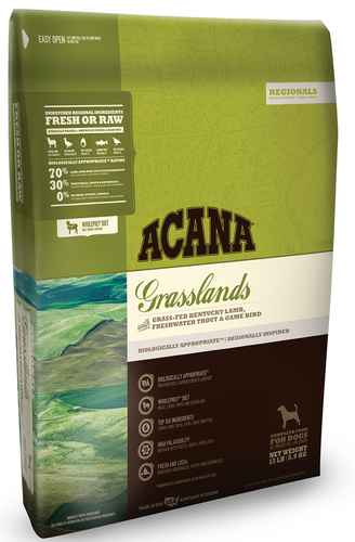 ACANA Regionals Grasslands Formula Grain Free Dry Dog Food