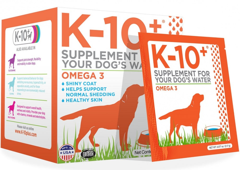 K-10+ For Your Dog's Water Omega-3 Formula Dog Supplement