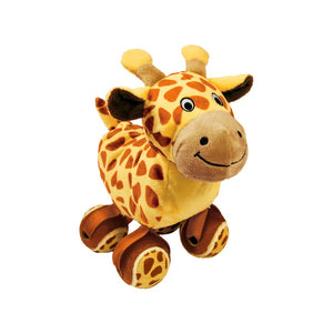 KONG Tennishoes Giraffe Dog Toy
