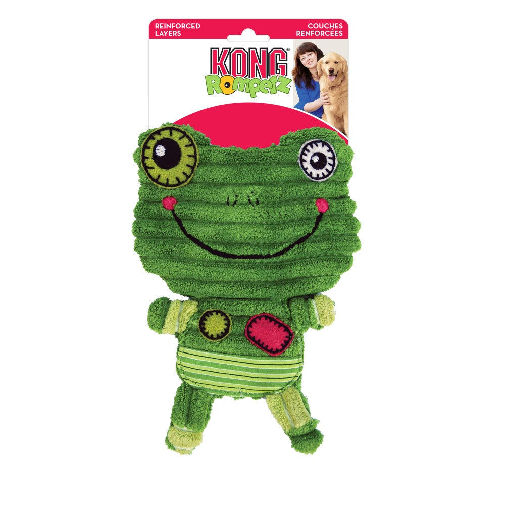 KONG Romperz Frog Dog Toy