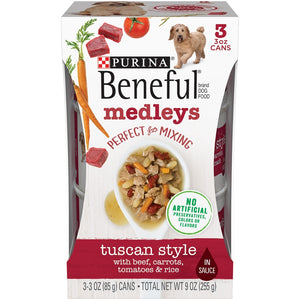 Beneful Medleys Tuscan Style Canned Dog Food