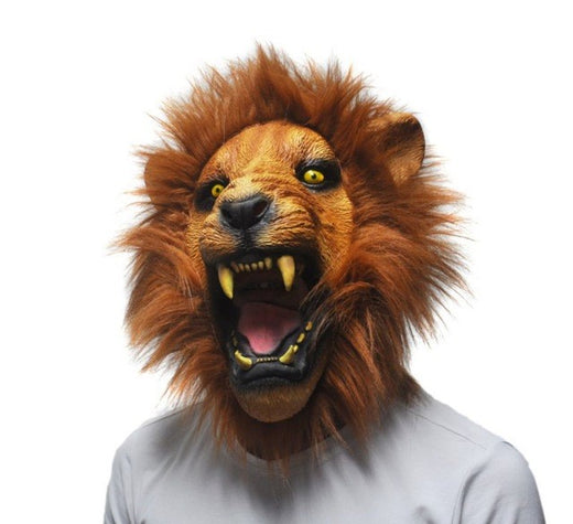 Masque Latex Lion