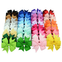 "Lot de 40 barrettes ""ruban"" multi-couleur"