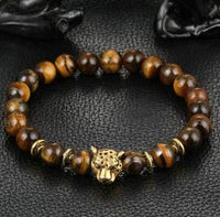 "Bracelet ""Animals"" pierres naturelles"