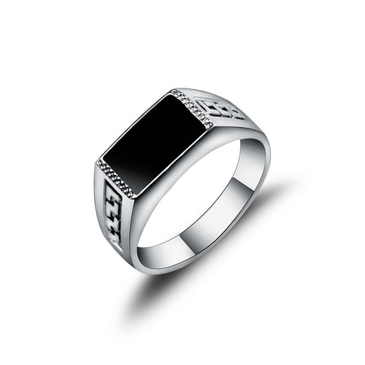 "Bague ""Trendy"" alliage de zinc"