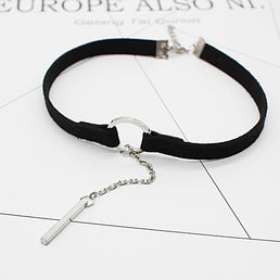 "Collier Black ""Gothique"""