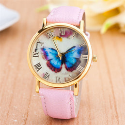 Montre femme Style Butterfly