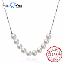 "Collier en argent 925/000 ""Pearls"""