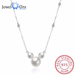 "Collier en argent 925/000 ""MousePearl"""