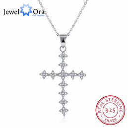 "Collier en argent 925/000 ""Cross"""