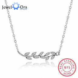 "Collier en argent 925/000 ""Leaves"""