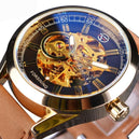 "Montre Homme automatique ""Skeleton"""