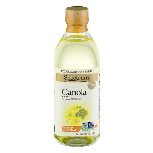 Spectrum Expeller Pressed Canola Oil Refined High Heat
