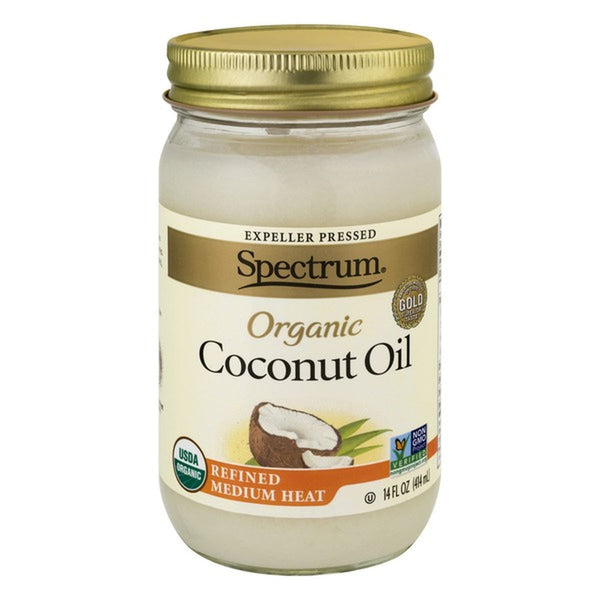 Spectrum Organic Coconut Oil, Refined