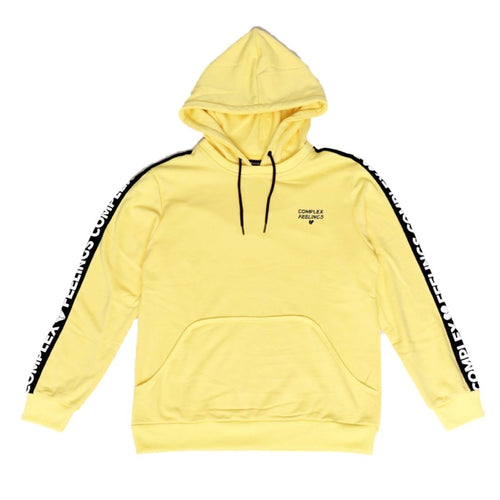 Yellow Don't Worry Hoodie