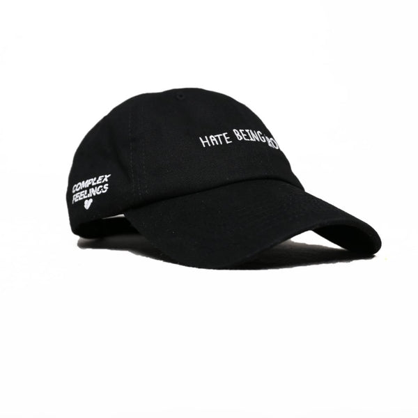 Black Hate Being Broke Dad Hat