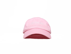 Pink Hate Being Broke Dad Hat