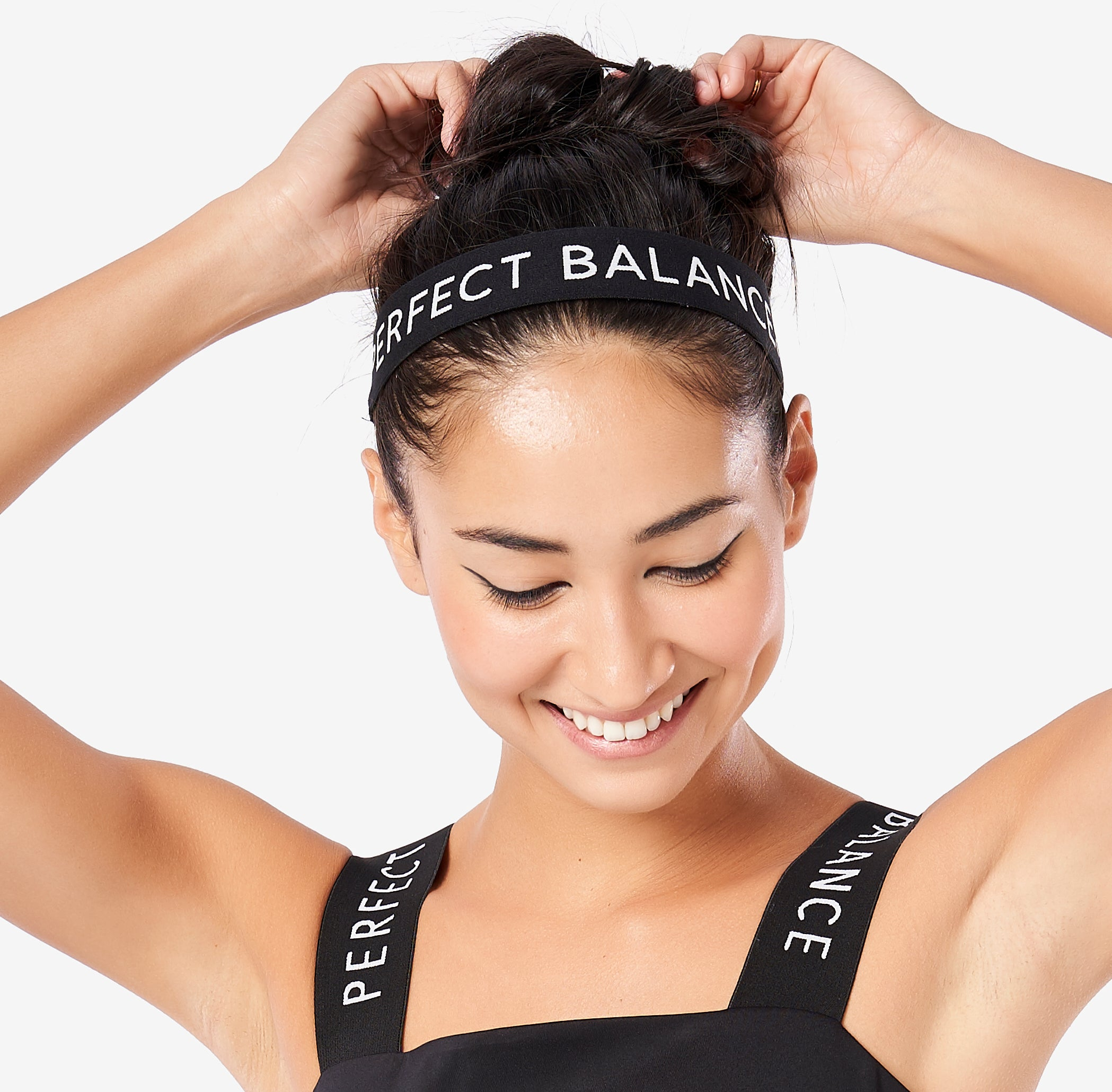 Perfect Balance World Logo Elastic Headband
