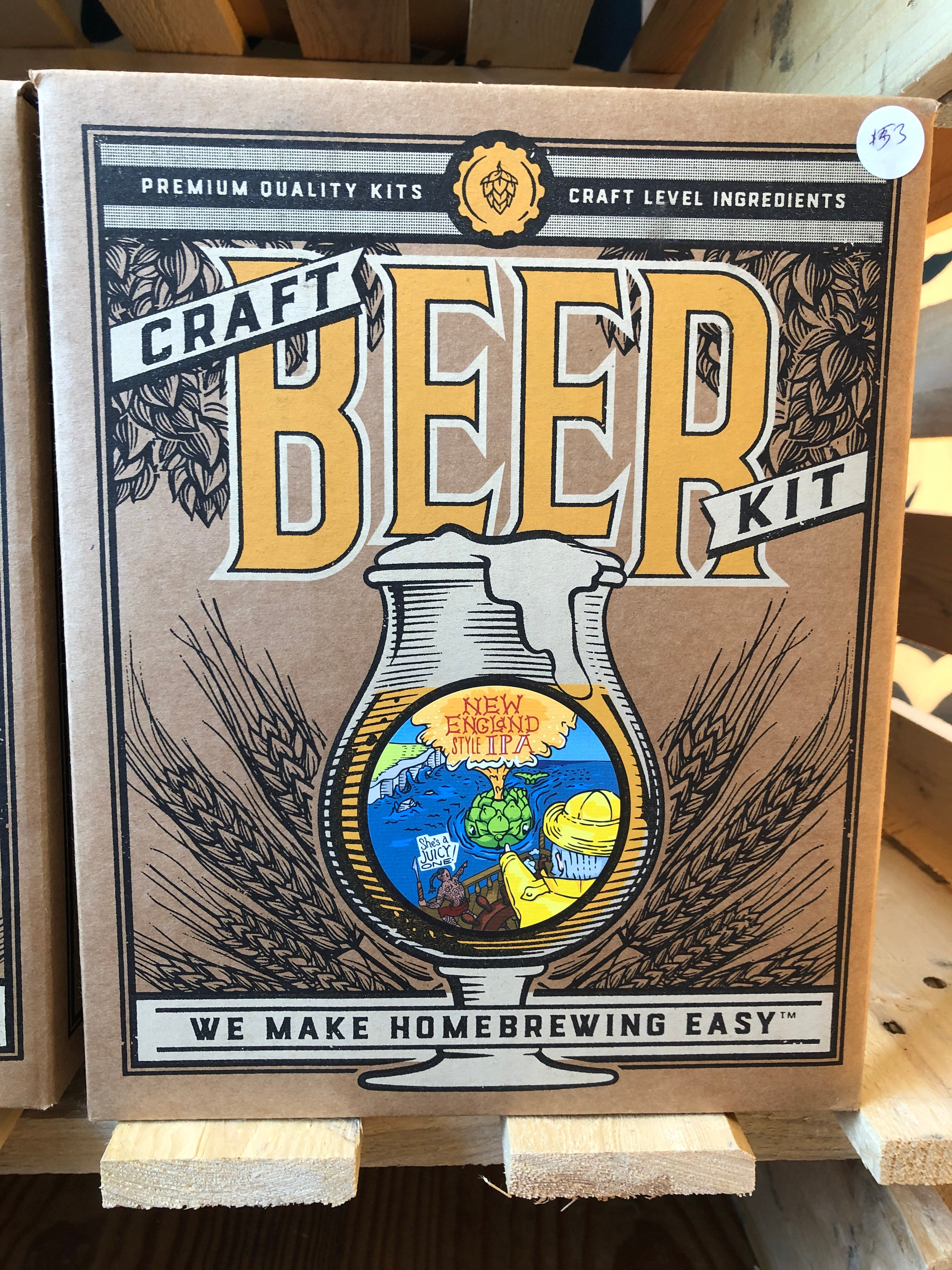 Craft Beer Making Kit New England IPA