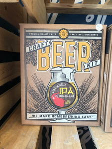 Craft Beer Making Kit Oak Aged IPA