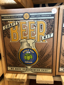 Craft Beer Making Kit Single Hopped IPA