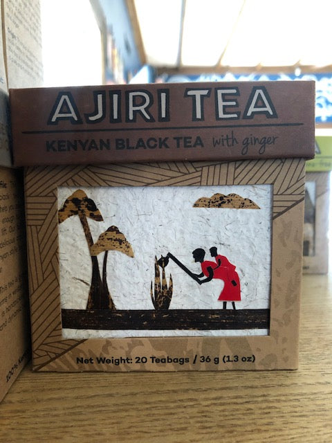 Ajira Black Tea with Ginger