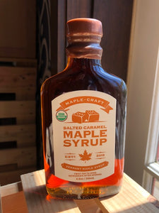 Maple Craft Salted Caramel Maple Syrup