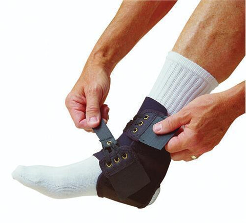Orthopedic Care Ankle Brace  Quik-Tie