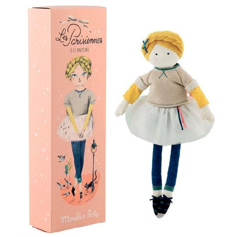 Parisiennes Doll 39cm, Toy, Moulin Roty - Purr Petite