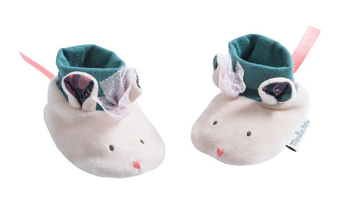 Il Etait une Fois - Baby Slippers, Accessories - baby, Moulin Roty - Purr Petite