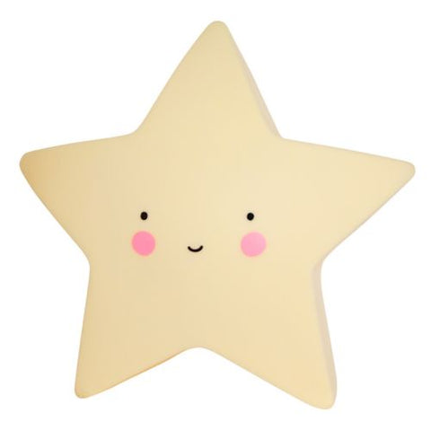 Mini Light: Star, Decor, Little Lovely Company - Purr Petite