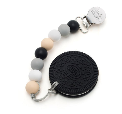 Teether- Black Cookie, Teether, Lou Lou Lollipop - Purr Petite
