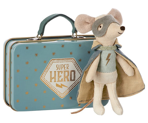 Super Hero Mouse, Micro, Toy, Maileg - Purr Petite