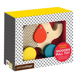 Jumping Jumbo Wooden Pull Toy, Toy, Petit Collage - Purr Petite