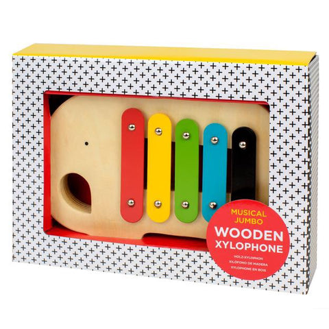 Musical Jumbo Wooden Xylophone, Toy, Petit Collage - Purr Petite