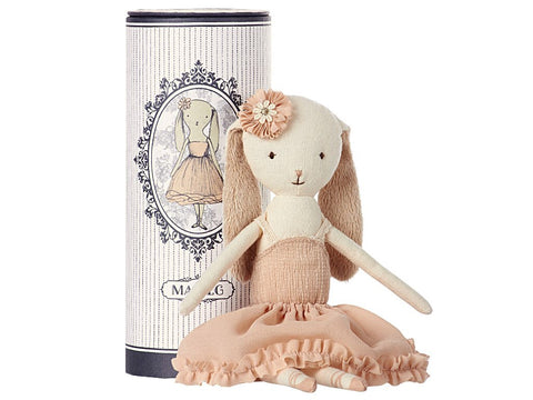 Dancing Ballerina Bunny in Tube, Toy, Maileg - Purr Petite