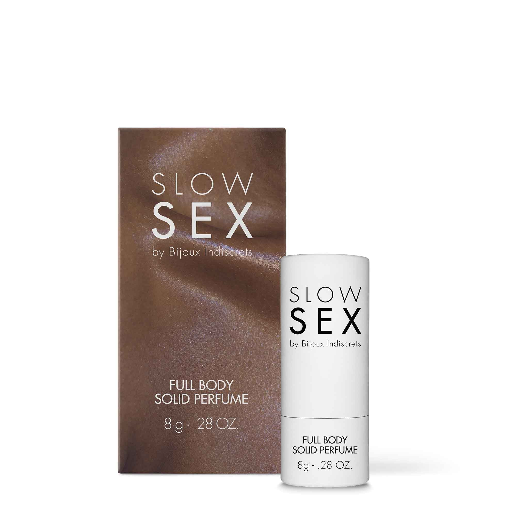 Full Body Solid Perfume -  SLOW SEX